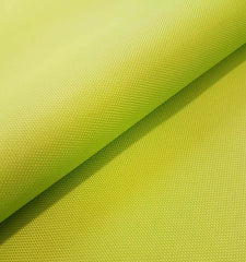 PU Coated Polyester Woven Waterproof Tough Durable Fabric Select Size - LIME