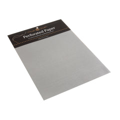 Mill Hill Perforated Paper 14 Count :Silver - Hobby & Crafts