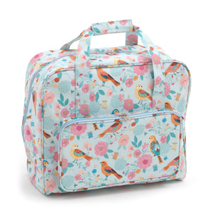 Birdsong Groves Matt PVC Sewing Machine Storage Bag With Zipup Front Pocket 43cm - Hobby & Crafts