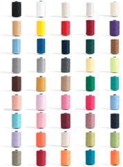 Hemline 1000m Overlocking Thread Reels Sewing Crafts Choose Colour 110-625