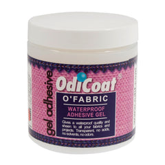 OdiCoat Odi Fabric Coating Gel Adhesive Create Oil Cloth Effect 250 ml - Hobby & Crafts