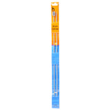 Pony Knitting Needles Single Ended Anodized Solid Aluminium Pins 30 cm x 2.50 mm - Hobby & Crafts