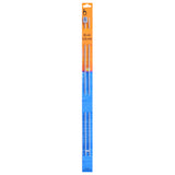 Pony Knitting Needles Single Ended Anodized Solid Aluminium Pins 35 cm x 2.25 mm - Hobby & Crafts