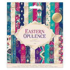 50 x Papermania Eastern Opulence 15.24cmx15.24cm Paper Pad 25 Different Designs Scrapbooking Crafts