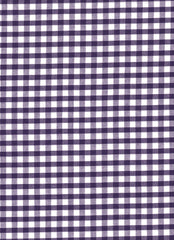 "Purple Gingham Polycotton 1/4"" Checked Fabric Select Size 112cm Wide"