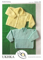 Double Knitting Pattern Cardigans Sweater 0 To 6 years 41-66 cm 16-26 inches - Hobby & Crafts