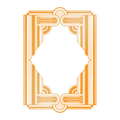The Ritz Framed Columns GoPress Foil Machine Hotfoil Stamp Cards Scrapbooking 82mm x 119mm - Hobby & Crafts