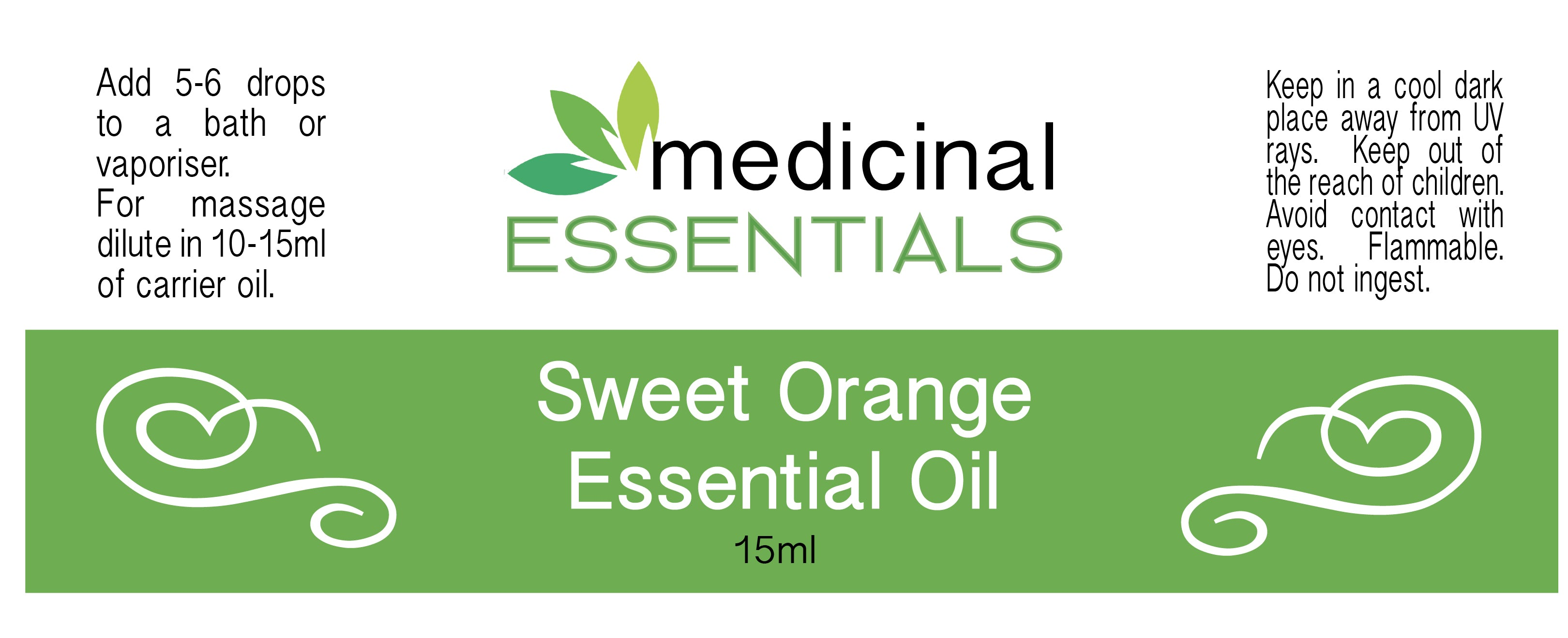Sweet Orange Essential Oil – 15ml
