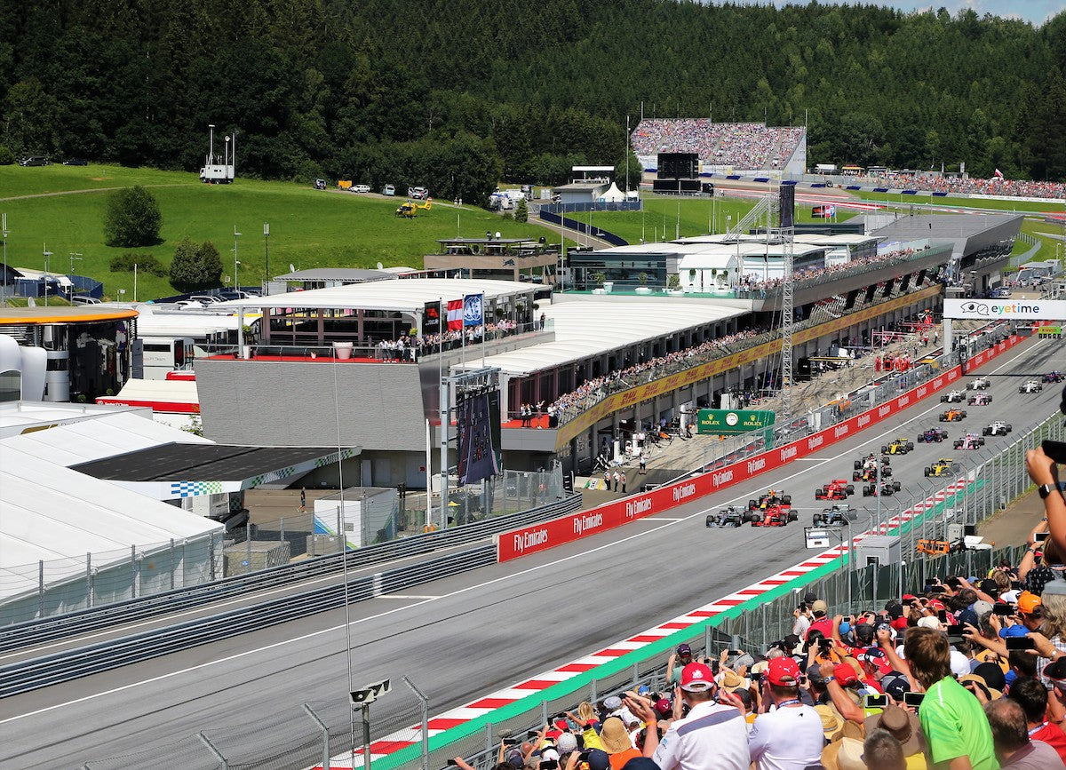 Fan Experience Packages - Austria F1 Grand Prix 2-6 July 2020