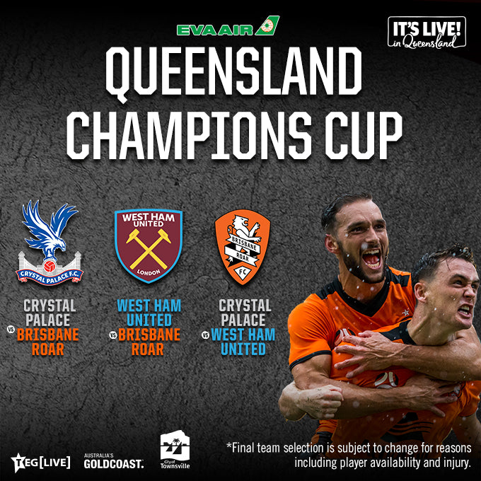 Premier Lounge - Townsville - Crystal Palace F.C. vs Brisbane Roar F.C. - 11/07/2020