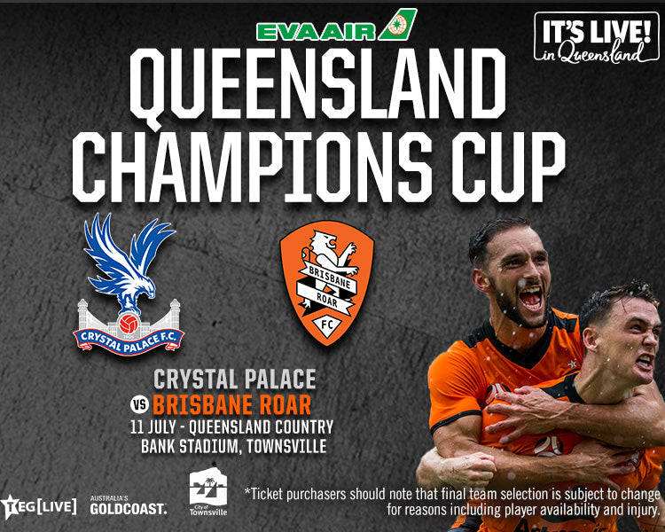 Open Boxes - Townsville - Crystal Palace F.C vs Brisbane Roar F.C. - 11/07/2020