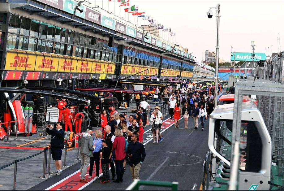 Fan Experience Packages - F1 Australian Grand Prix - 12–15 MAR 2020