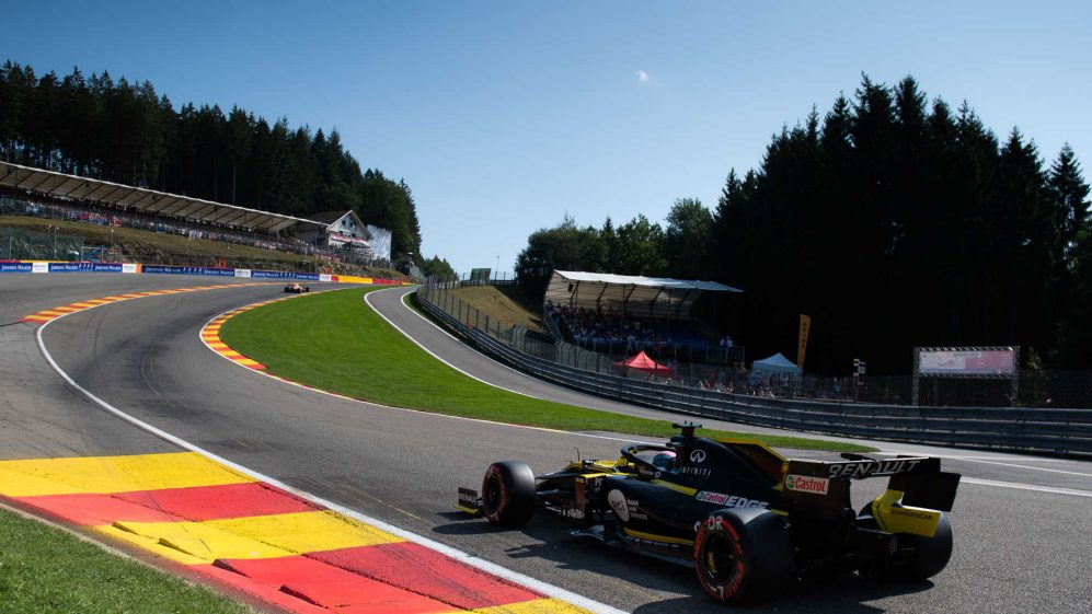 Fan Experience Packages - Belgium F1 Grand Prix 27-30 AUG 2020