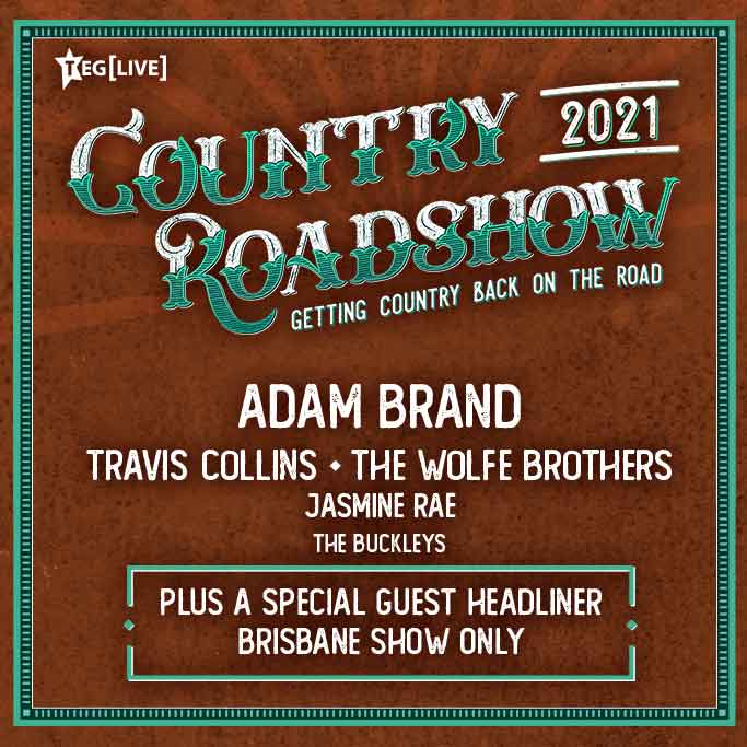 Back On Your Feet VIP Package - Country Roadshow 2021