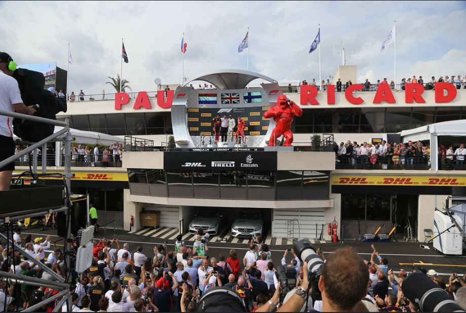 Fan Experience Packages - F1 French Grand Prix - 25-28 Jun 2020