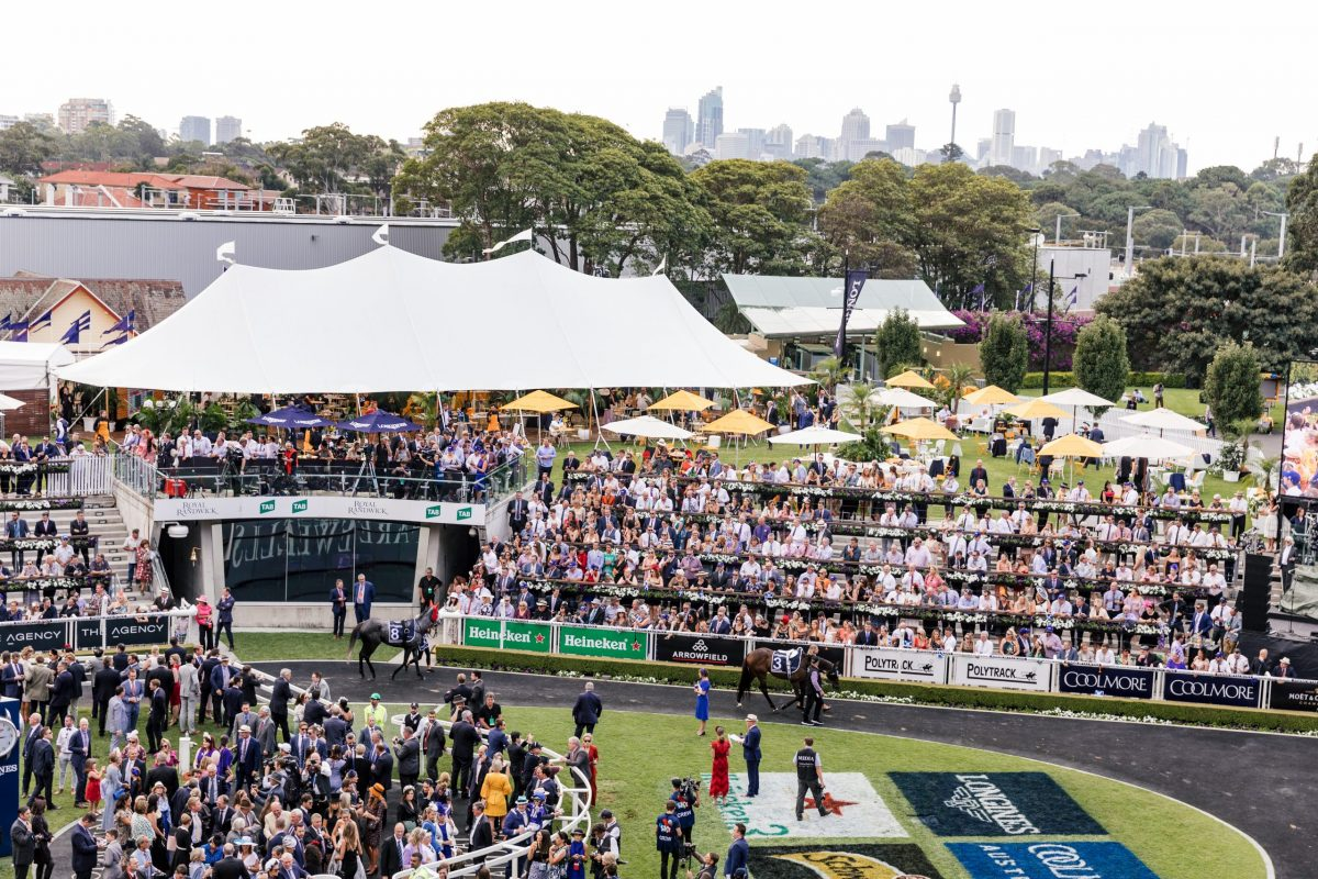 ROYAL RANDWICK: PUBLIC: THEATRE OF THE HORSE MARQUEE - Everest Day - Saturday, 17th October 2020