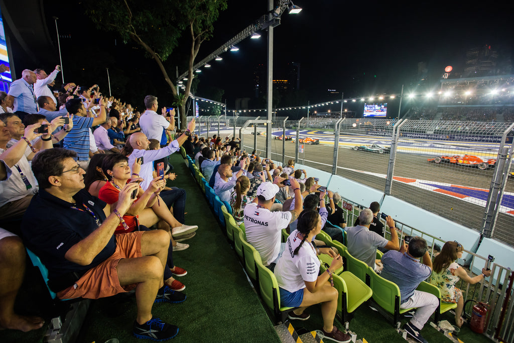 UPPER DECK - FORMULA 1 SINGAPORE AIRLINES SINGAPORE GRAND PRIX 2020