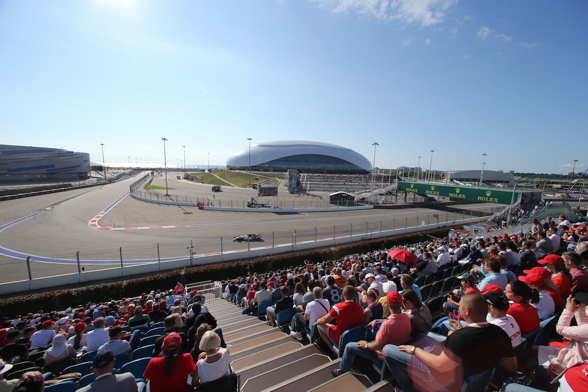 Fan Experience Packages - Russian F1 Grand Prix - 24 ‑27 SEPT 2020