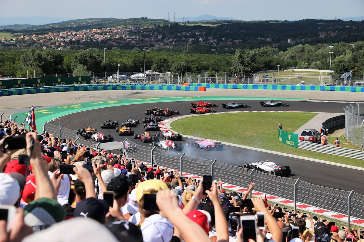 Champions Club - Hungarian F1 Grand Prix -30 July - 2 Aug 2020