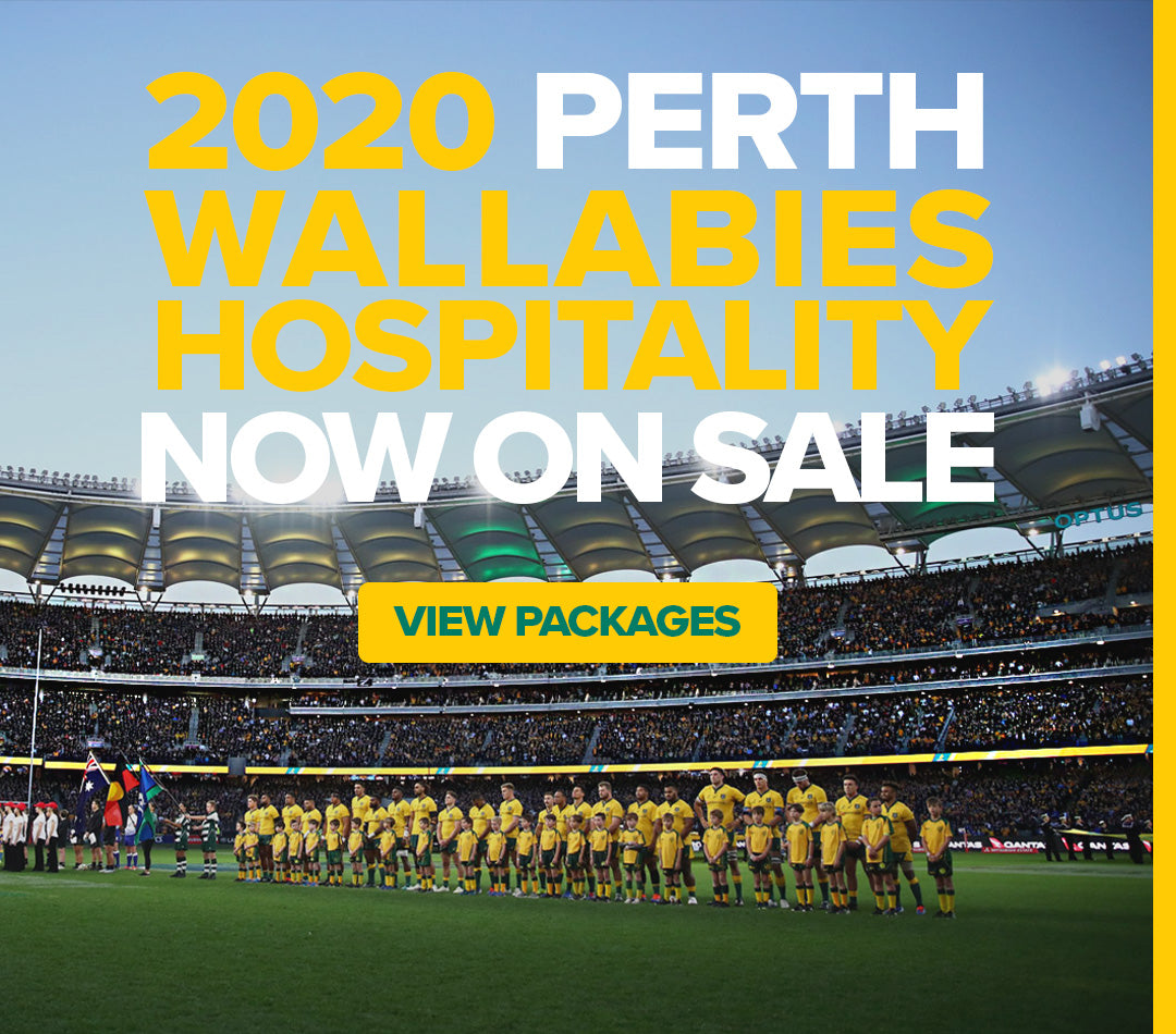 Perth - Australia vs South Africa - Wallaby Lounge - 29 Aug 2020