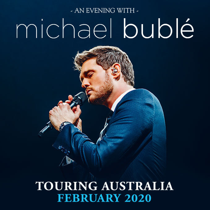 Adelaide - Michael Bublé - IT'S TIME VIP Cocktail Experience - Feb 2020