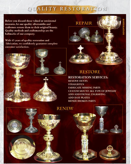 Metalware Refinishing and Restoration from North Star Brands