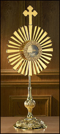 Large Cross Monstrance with Luna (Series PS745)