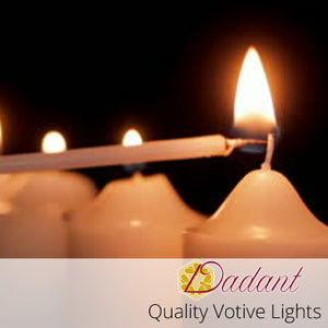 Dadant Votive Candles: 15 Hour