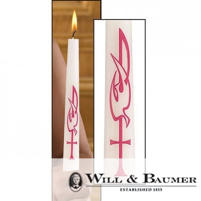 "Confirmation Candle: ""The Holy Spirit"" (Case of 24)"