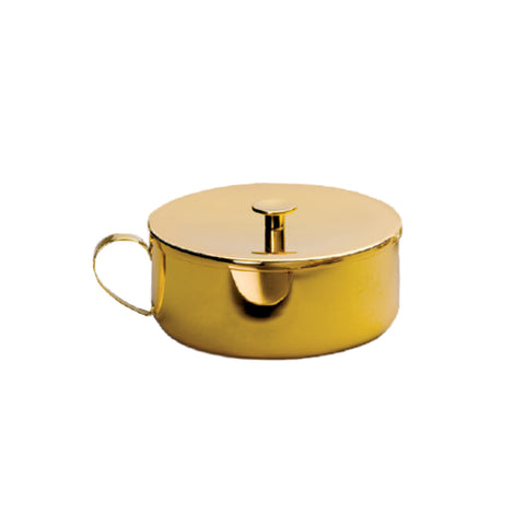 Covered Ciborium with 24K Gold Finish (Style 136-500)
