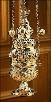 Ornate Censer with 12 Bells (Series NS771)