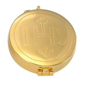 24K Gold Plated Pyx (Style 2022G)
