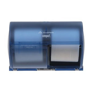 Compact Side-By-Side Double Roll Dispenser
