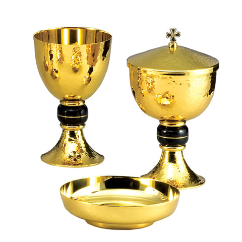Chalice with Bowl Paten and Ciborium Set (Style 232250)