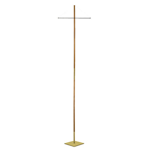 "144"" Banner Stand with Wooden Pole and 14"" Square Base (Style 2424)"
