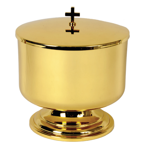 Large Capacity Covered Ciborium with Polished Interior (Style 2775-1200)