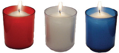 Dadant Brand: Disposable Votives in Plastic(10 Hour)