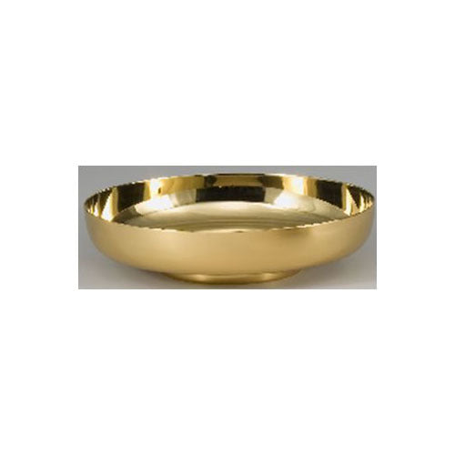 "10"" Bowl Paten with High Polished Interior (Style 4911-10)"