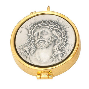 24K Gold Plated Pyx (Style 2024G)