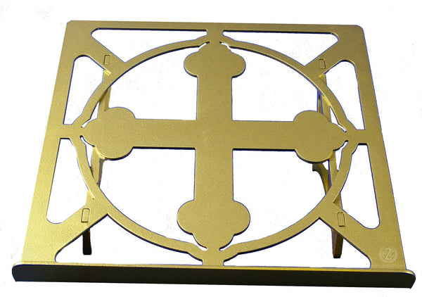 "13"" Footed Book Stand with Powder Coat Finish (Style 1313)"