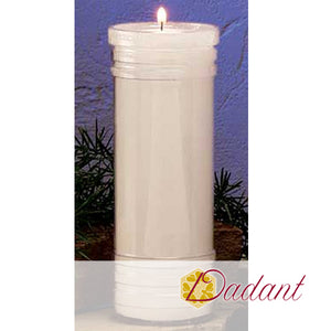 7 Day Sanctuary Candle: Open Top Plastic