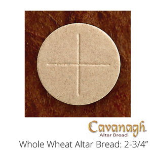 "Whole Wheat Altar Bread: 2-3/4"" Dia. (Cavanagh Brand)"