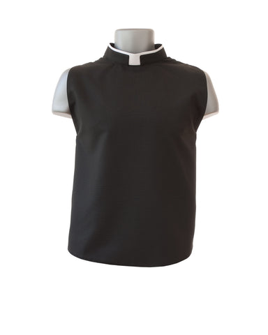 Lightweight Shirt Front with Fabric Collar
