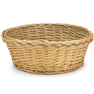 Round Collection Basket without Lining (No Handles)