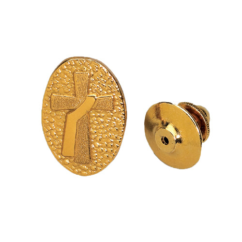Deacon's Lapel Pin in Sterling Gold Plate (Style 4396)