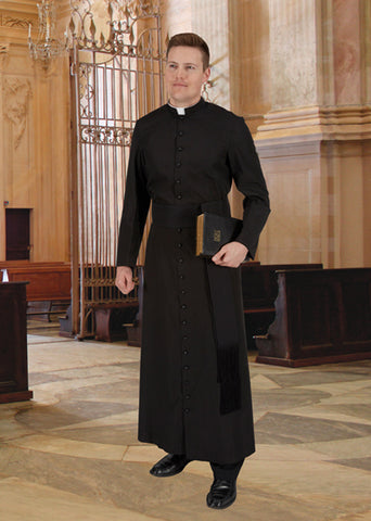 Cleric Cassock Standard Size by R.J. Toomey (Style 390-RS)
