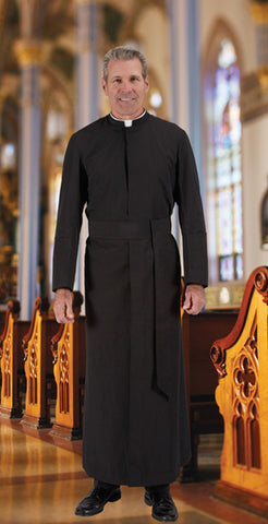 Cleric Cassock Standard Size by R.J. Toomey (Style 395-RP)