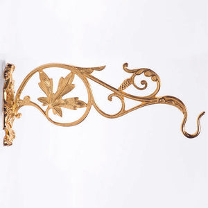 Wall Bracket 24k Gold Plated (Style K664)