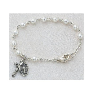 "5 1/2"" Pearl Baby Bracelet (Style: BR177D)"