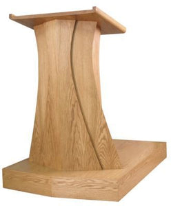 wooden pulpit contemporary style 631 north star brands